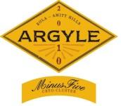 菱花米纳斯5号甜白葡萄酒(Argyle Minus Five Dessert Wine,Willamette Valley,USA)