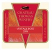 托马斯年份波特风格加强酒(Chateau Thomas Winery Vintage Port,Lodi,USA)