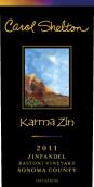 谢尔顿酒庄因缘老藤仙粉黛干红葡萄酒(Carol Shelton Karma Zin Old Vine Zinfandel,Russian River ...)