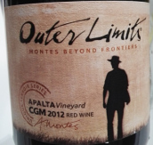 蒙特斯跨界佳丽酿-歌海娜-慕合怀特混酿红葡萄酒(Montes Beyond Frontiers Outer Limits Carignan-Grenache-...)