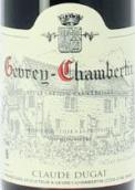 杜卡酒庄(热夫雷-香贝丹村)干红葡萄酒(Claude Dugat, Gevrey-Chambertin, France)
