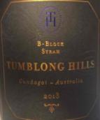 腾龙山B地块西拉干红葡萄酒(Tumblong Hills B-Block Syrah, Gundagai, Australia)