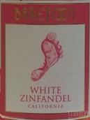 贝尔富特白仙粉黛桃红葡萄酒(Barefoot Cellars White Zinfandel, California, USA)