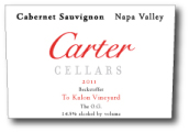 卡特贝克斯道夫最佳OG赤霞珠干红葡萄酒(Carter Cellars Beckstoffer To Kalon Vineyard The O.G. Cabernet Sauvignon, Napa Valley, USA)