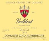 鸿布列什酒庄歌黛园麝香白葡萄酒(Domaine Zind-Humbrecht Goldert Muscat, Alsace, France)